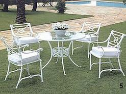 Jardinsolmuebles - Muebles de Jardin - Aluminio - Muebles en Aluminio